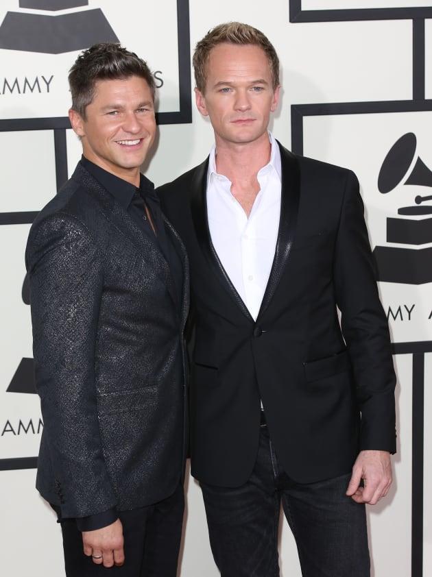 Neil Patrick Harris at the Grammys