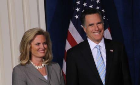 Ann Romney and Mitt Romney