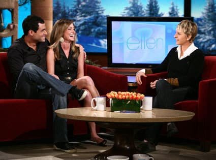 Jason and Molly on Ellen