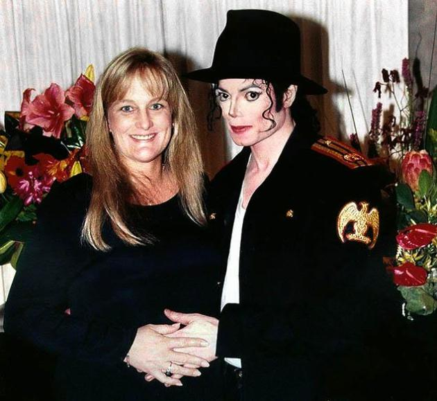 Debbie Rowe, Michael Jackson Photo