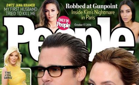 Angelina Jolie and Brad Pitt on People