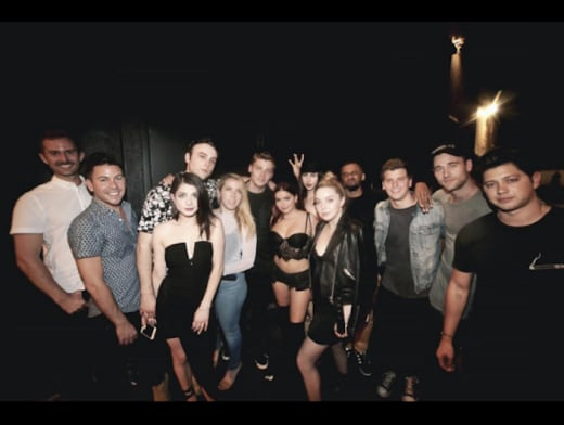 Ariel Winter with Squad