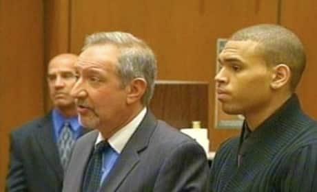 Chris Brown Pleads Not Guilty