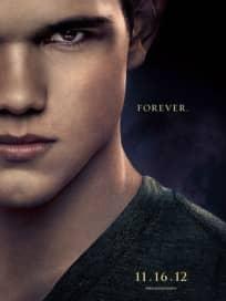 Taylor Lautner Breaking Dawn Poster