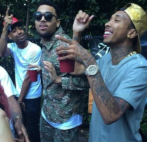 Chris Brown and His Bros
