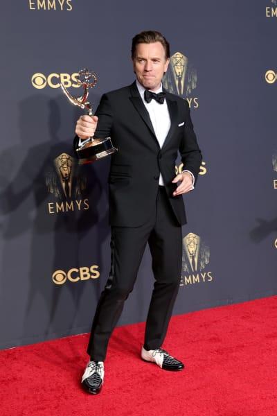 Ewan McGregor With Emmy