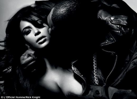 Kim Kardashian Breast Grab