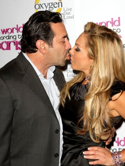 Adrienne Maloof and Paul Nassif Kissing