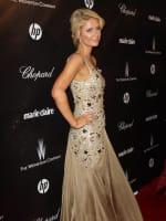 Paris Hilton at the Golden Globes