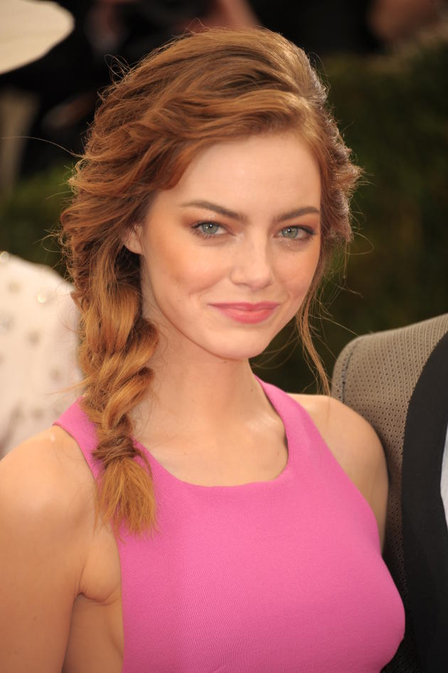 Emma Stone MET Gala Photo