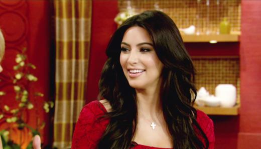 Kim Kardashian as Ko-Host