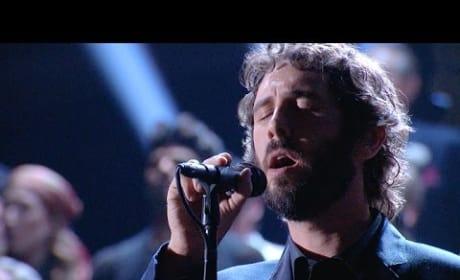 Josh Groban Sings Tony Awards In Memoriam