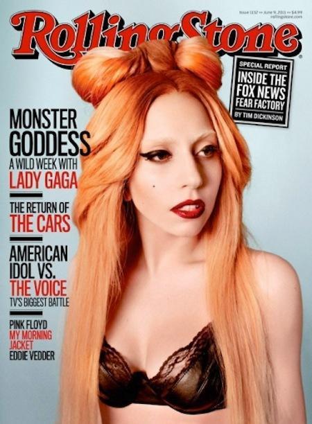 Lady Gaga in Rolling Stone