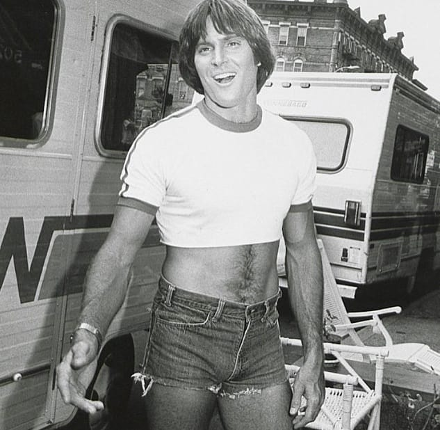 Bruce Jenner: Short Shorts Photo