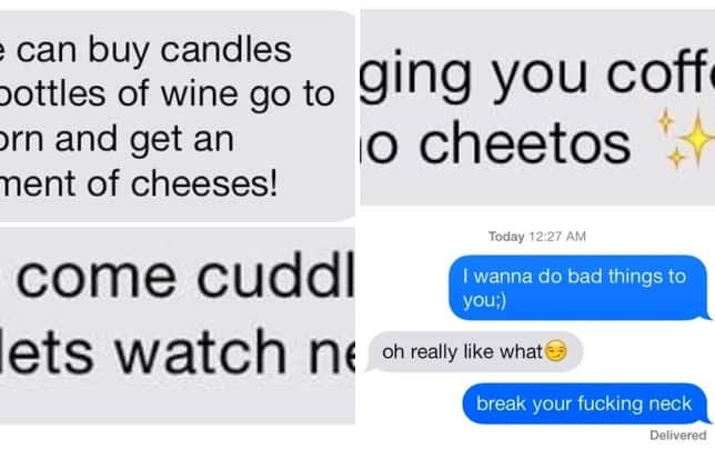 Sext fails cheese and wine