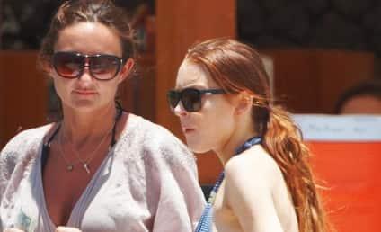 Riley Giles is Seeing Lindsay Lohan Naked