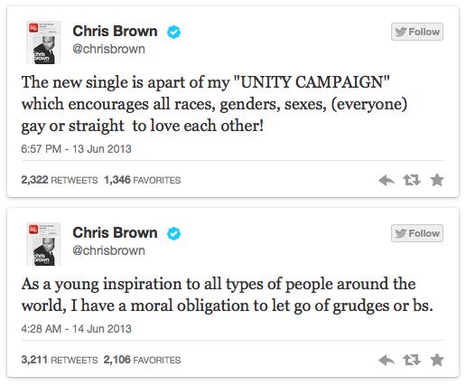 Chris Unity Tweetz