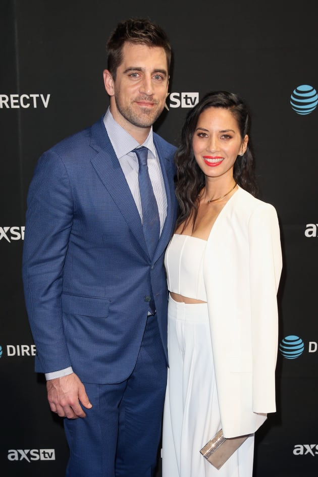 Aaron Rodgers: Did He Dump Olivia Munn for His Family ...