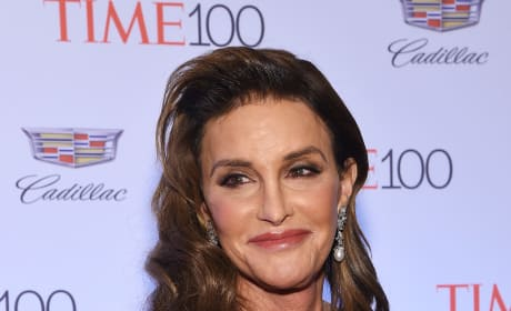 Caitlyn Jenner in black gown