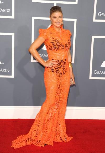 Fergie in Orange