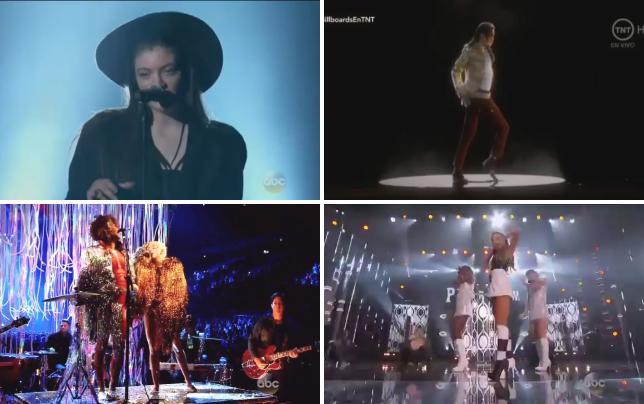 Lorde billboard music awards performance 2014