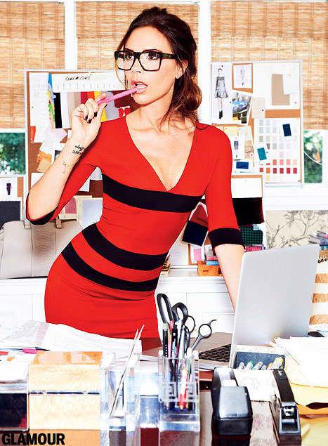 Victoria Beckham in Glamour