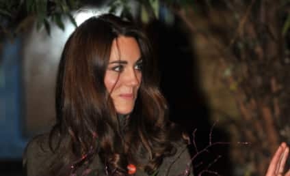 Middleton Mingling: Kate and Pippa Celebrate New Year's in Family Back Yard