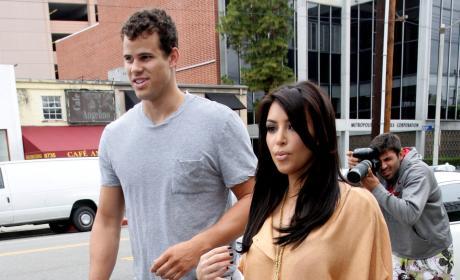 A Kim Kardashian and Kris Humphries Pic