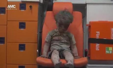 Omran Daqneesh: Photo of Aleppo Boy Stuns World