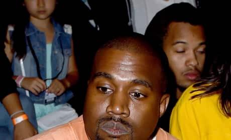 Kanye West in Orange