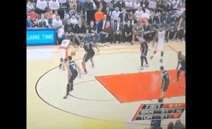 Drake Disses Jay Z, Lint Rolls Pants at Raptors Game