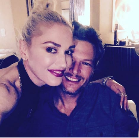 Blake and Gwen Instagram Pic 1