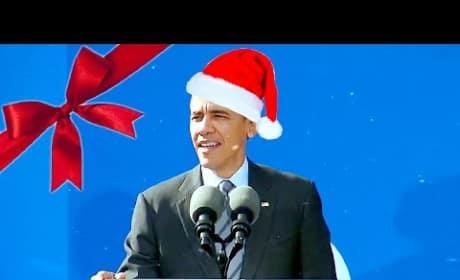 "Barack Obama: ""Jingle Bells"""