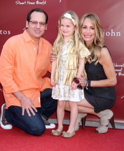 Russell Armstrong, Kennedy Armstrong and Taylor Armstrong