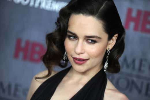 Emilia Clarke Red Carpet Photo