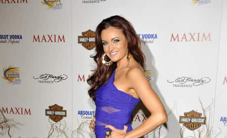 Maria Kanellis Maxim Hot 100 Party