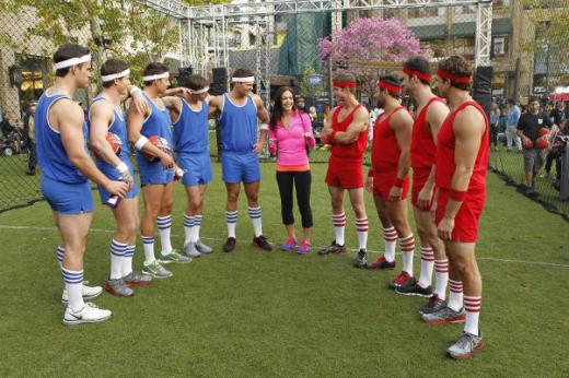 The Bachelorette Dodgeball Photo