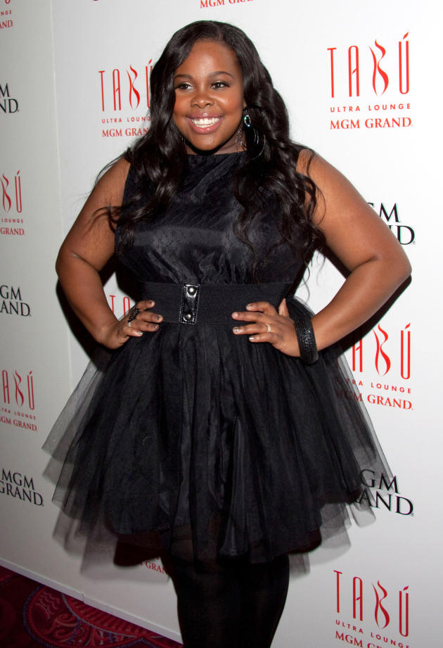 Amber Riley Red Carpet Photo
