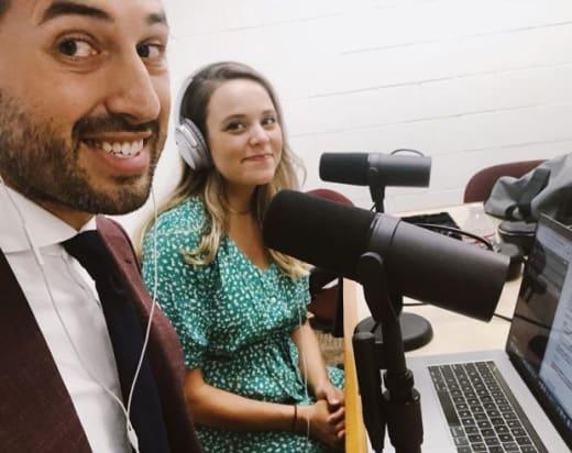 Jinger and Jeremy, Podcast Hosts