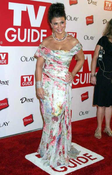 Paula Abdul Flower Dress