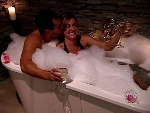 Jason and Molly in the Tub