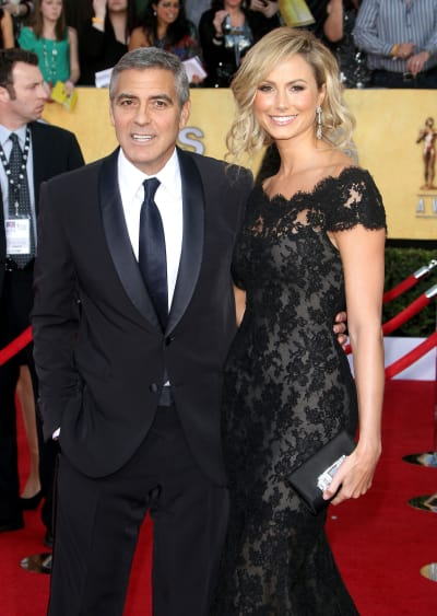 Stacy Keibler, George Clooney Photo