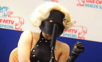 Lady Gaga Prepares For Concert, Possible Bank Robbery