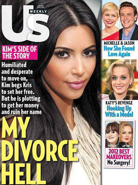 Kim Kardashian Us Weekly Cover