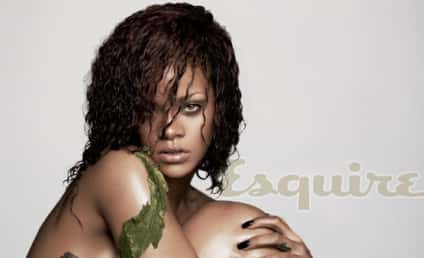 Rihanna: Nude, Named Sexiest Woman Alive, Praising Chris Brown in Esquire!