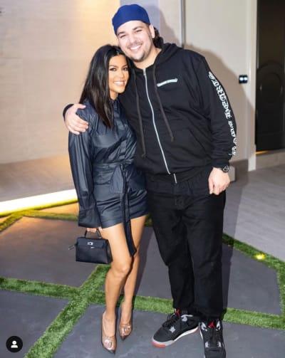 Rob Kardashian perdió peso