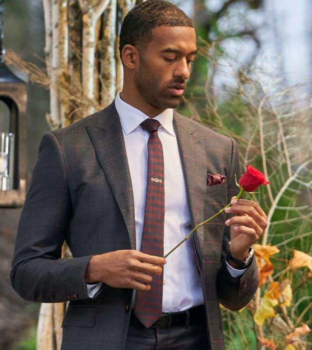 Matt james with a finale rose