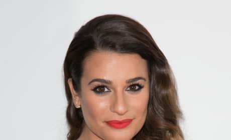 Lea Michele Gets Fancy