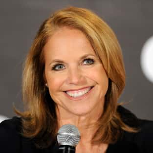 Katie Couric Press Conference Pic