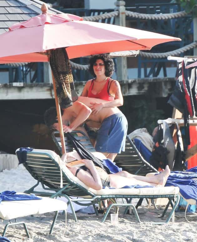 Amy Winehouse & Josh Bowman: A St. Lucia Love-Fest - The ...